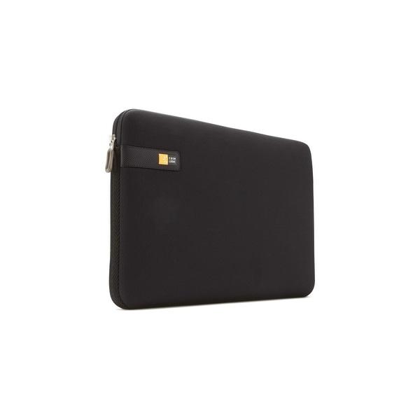 "Case Logic LAPS-117black Case Logic LAPS-117 Carrying Case (Sleeve) for 17.3"" Notebook - Black - Impact Resistant Interior"