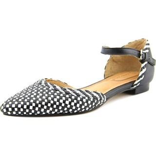 Corso Como Merla Women Pointed Toe Leather Black Flats