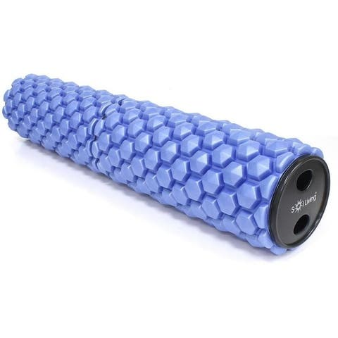 Sol Living High-Density Foam Roller - Muscular Relaxation, Workouts & Physical Therapy