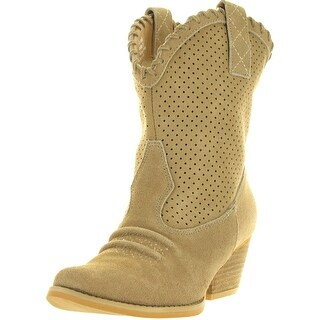 Very Volatile Womens Round-Up Ankle Boot