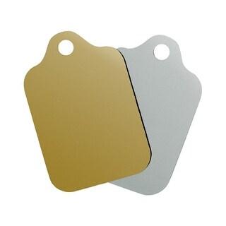"Metallic Resale Gift Tag Assortment 2-1/2"" x 3-3/4"""