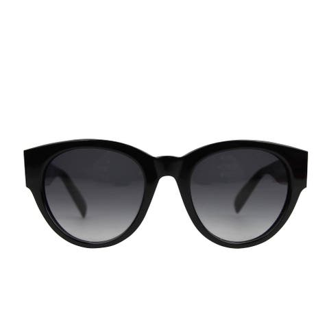Alexander McQueen Unisex Spike Detail Black Acetate Sunglasses AM0054S 442136 1007 - One size