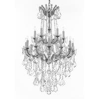 Maria Theresa Crystal Chandelier Chandeliers Lighting