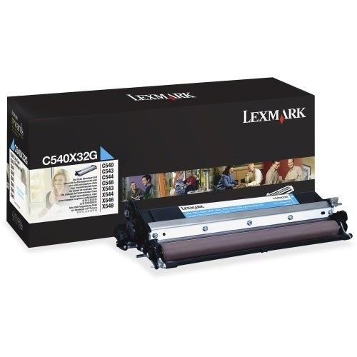 Lexmark C540X32G Lexmark Cyan Developer Unit For C54X Printer - Laser - Cyan