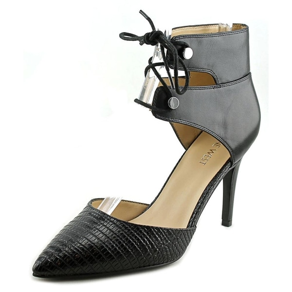 Nine West The Limit Pointed Toe Leather Heels