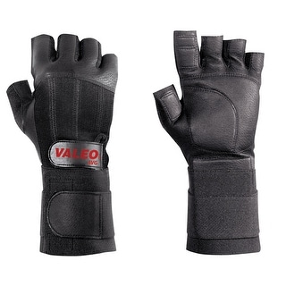 Valeo Half-Finger Anti-Vibration Gloves With Wrist Wrap
