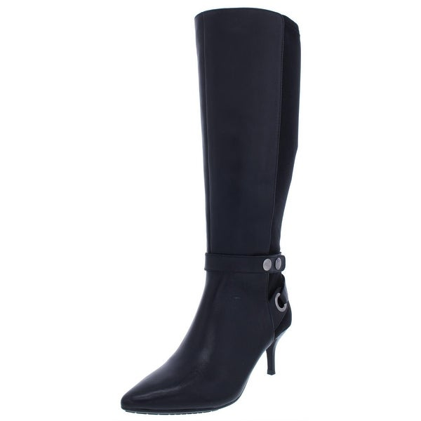 ef2c9777de2 Shop Tahari Womens Tabor Knee-High Boots Wide Calf Leather - Free ...