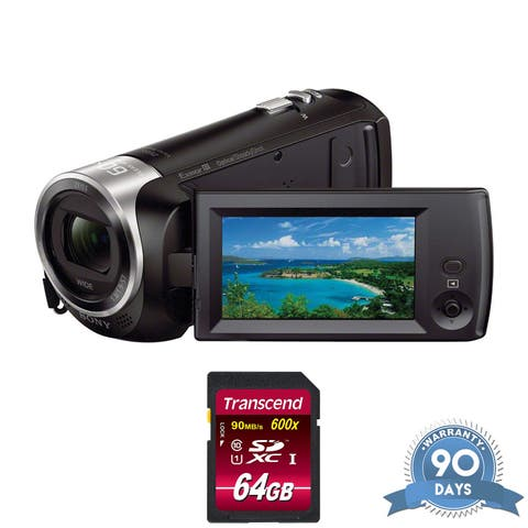 Sony HDR-CX405 HD Handycam - with Memory Card -