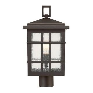 "Park Harbor PHEL3303 Ambler Single Light 18-3/16"" High Outdoor Single Head Post"