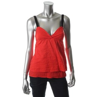 Volcom Womens Cotton Casual Top - L