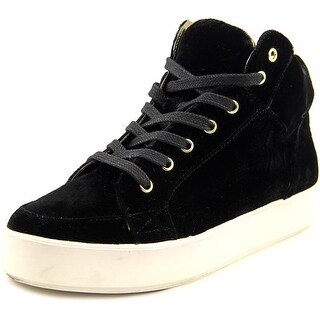 Nine West Verona Women Canvas Black Fashion Sneakers