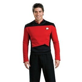 Star Trek Next Generation Red Adult Costume