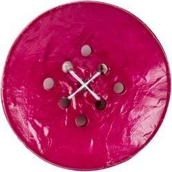 """Large Purple 1-3/4"""" 1/Pkg - 9 Hole Buttons"""