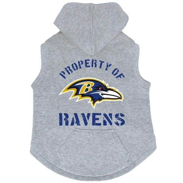 558302c213b Shop Baltimore Ravens Hoodie Sweatshirt - Large - Free Shipping On Orders  Over $45 - Overstock - 20841918