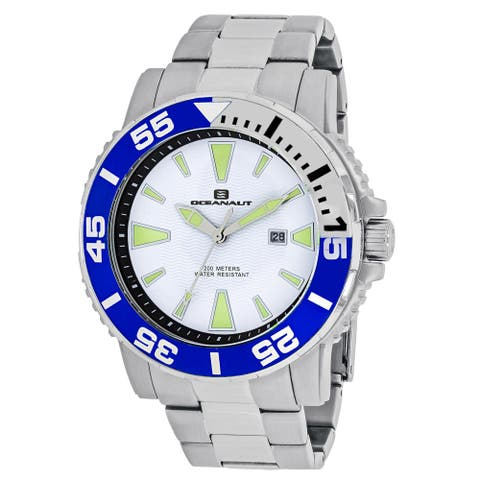 Oceanaut Men's Marletta OC2912 White Dial Watch