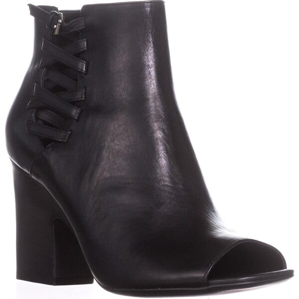 Lauren by Ralph Lauren Strappy Ankle Booties, Black - 10 us / 41 eu