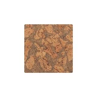 "APC Cork APC-BARK-T Residential Tiles Cork Flooring - 12"" Tiles ( 36 SF / Carton - N/A"
