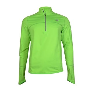 New Balance Men's Big & Tall HEAT Quarter-Zip Running Pullover