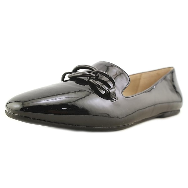 Enzo Angiolini Lianne Women Round Toe Synthetic Black Loafer