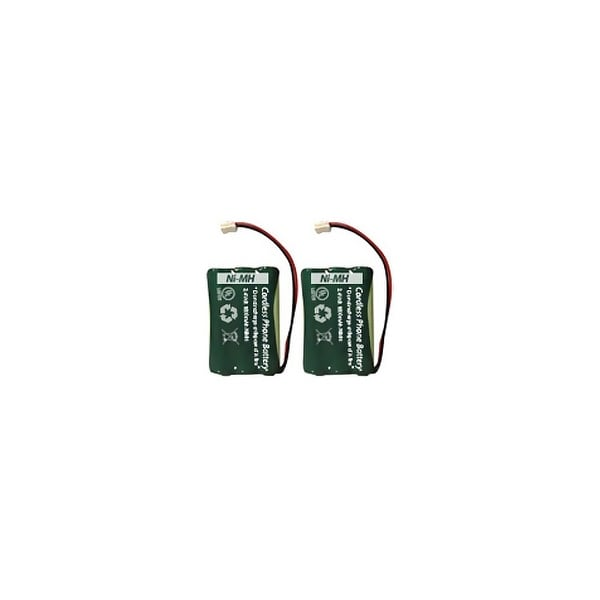 AT&T-Lucent 2901 Cordless Phone Battery Combo-Pack includes: 2 x EM-CPH-464D Batteries