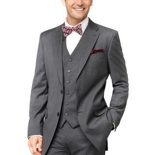 Tommy Hilfiger Mens Grey Striped Wool Sportcoat 40 Regular 40R Suit Separate
