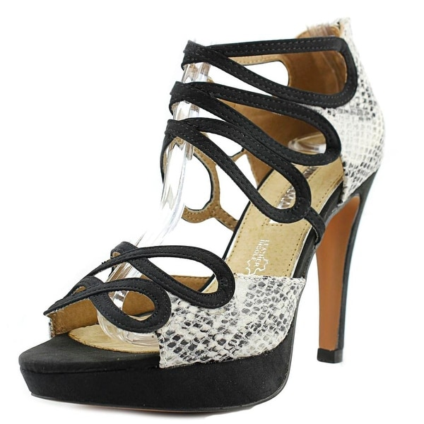 Maria Mare 66698 Women Stone/Black Sandals