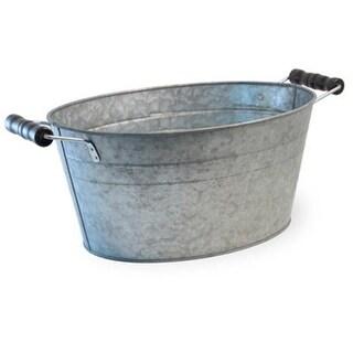 Boston International WHF18546 Oval Metal Bucket