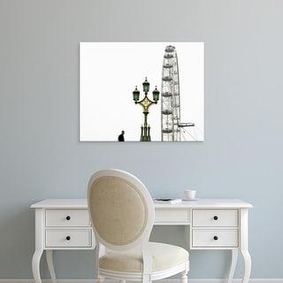 Easy Art Prints Keri Bevan's 'London Eye III' Premium Canvas Art