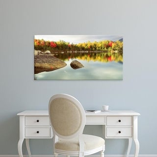Easy Art Prints Panoramic Images's 'Baxter State Park ME' Premium Canvas Art