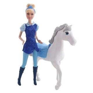 Cinderella & Royal Horse Figure