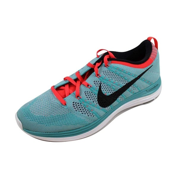 wholesale dealer 0b1f4 530d3 Nike Women  x27 s Flyknit Lunar1+ Sport Turquoise Black-Wolf Grey Size