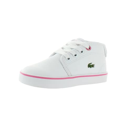 Lacoste Girls Ampthill 118 1 Casual Shoes Toddler Faux Leather