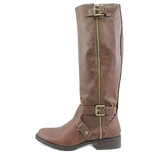 G By Guess Women's Hertle 2 Wide Calf Knee High Riding Boots