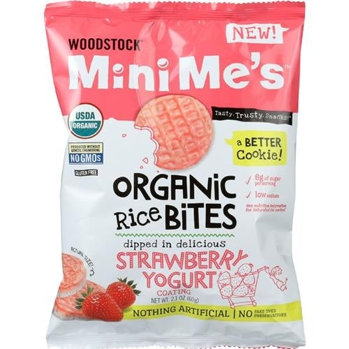 Woodstock Mini Me's - Strawberry Yogurt Bites ( 8 - 2.1 OZ)