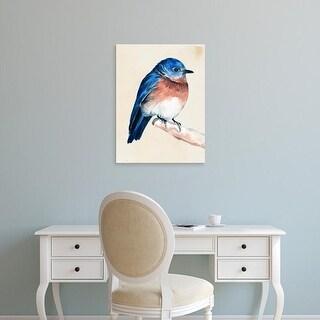 Easy Art Prints Jennifer Paxton Parker's 'Little Bird on Branch I' Premium Canvas Art