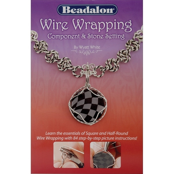 Beadalon Books-Wire Wrapping Component & Stone Setting