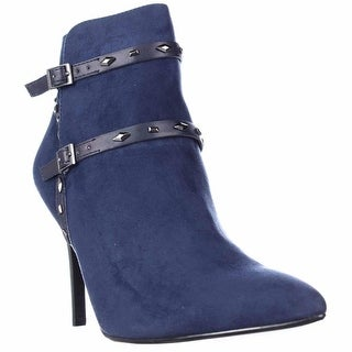 Carlos by Carlos Santana Guthrie Studded Booties - Navy