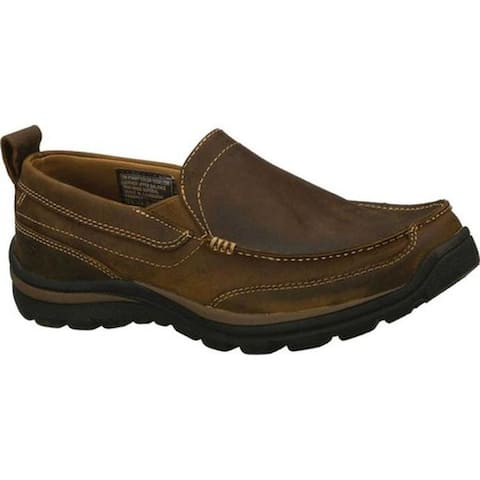Skechers Men's Relaxed Fit Superior Gains Brown