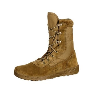 Rocky Tactical Boots Mens Light Commercial Military Brown RKC065