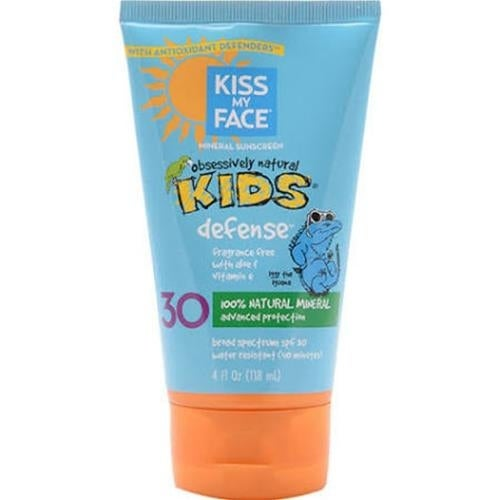 Kiss My Face - Kids Sunblock Natural Mineral Lotion Spf 30 ( 1 - 4 FZ)