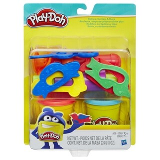 Play-Doh Rollers and Cutters Tool Kit, Set of 15