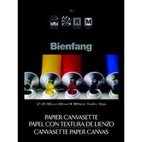 Bienfang Canvasette Pad, 12 x 16 in, Pack of 10