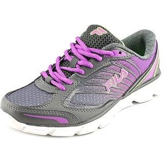 Fila Fresh 3 Round Toe Synthetic Running Shoe