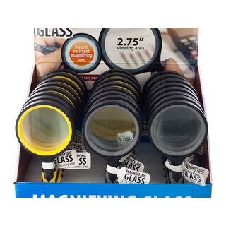 Magnifying Glass Countertop Display - Pack of 12