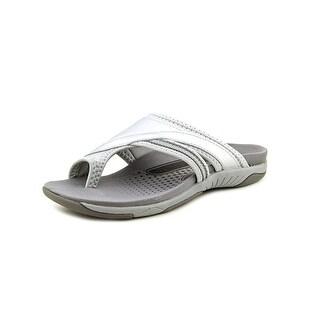 Propet Corinne XT N/S Open Toe Leather Flip Flop Sandal