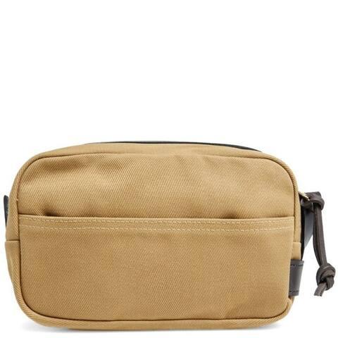 """Filson Rugged Twill Travel Kit (Tan) - 10"""" x 6"""" x 6"""""""
