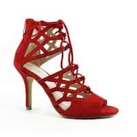 Pelle Moda Womens Eva Red Sandals Size 7.5