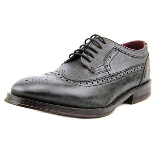 Ted Baker Chorlten Men Wingtip Toe Leather Black Oxford