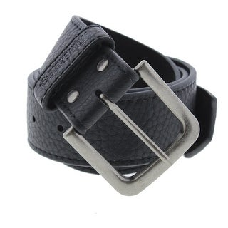 Wolverine Mens Leather Buckle Casual Belt - 38