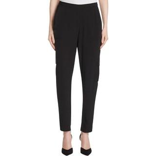 T Tahari Womens Suella Casual Pants Flat Front Pocket
